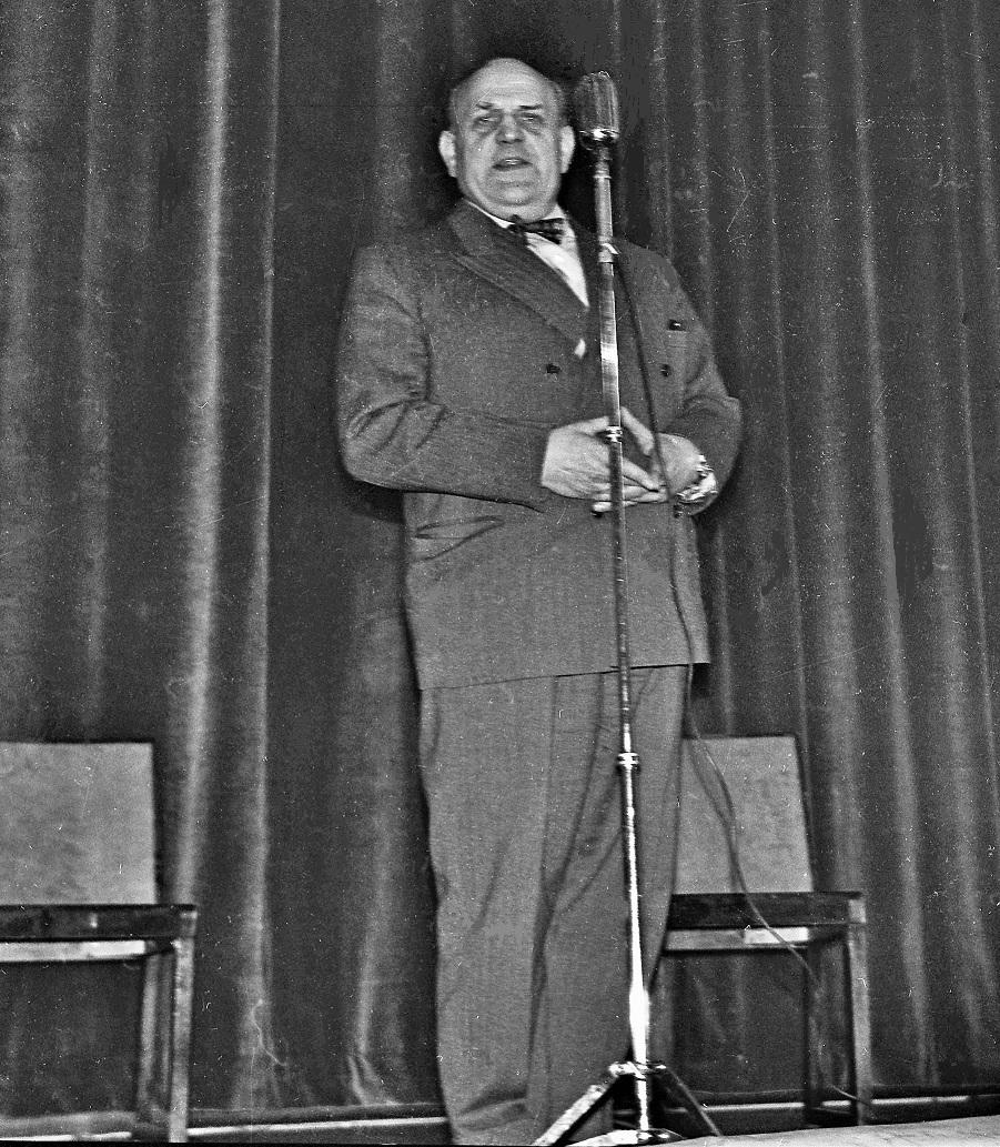 Douglas Håge ca 1957-58.
