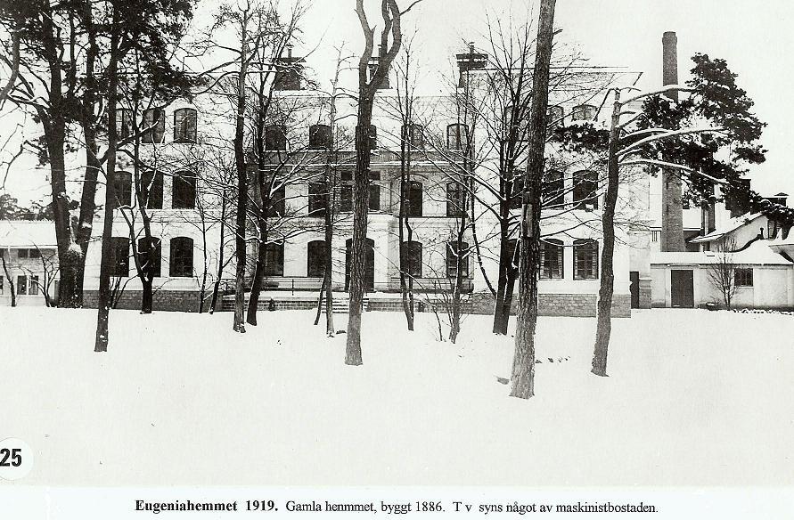 Gamla Hemmet 1919.