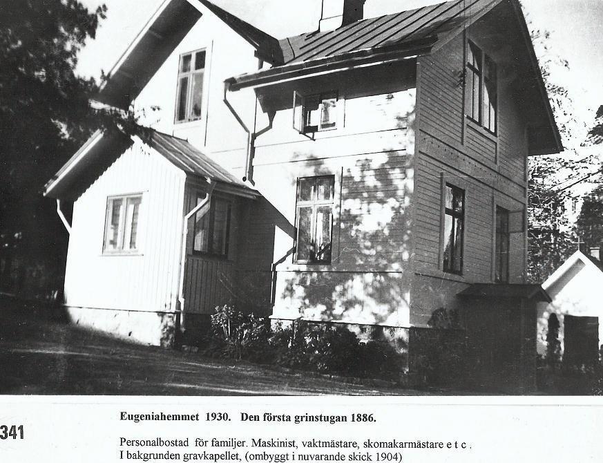 Grindstugan 1930.