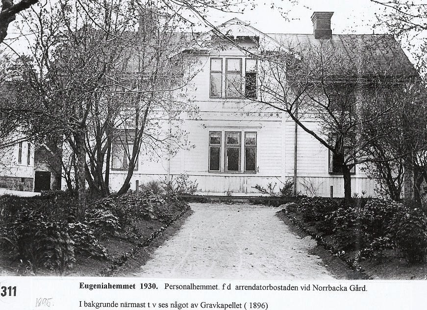Personalhemmet 1930.