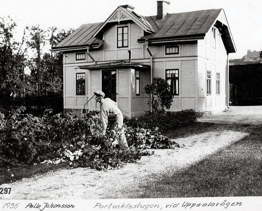 Portvaktsstugan 1935.