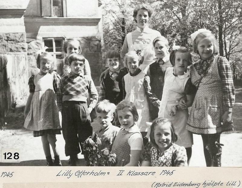 Lilly Offerholms 2:a klassare 1945.