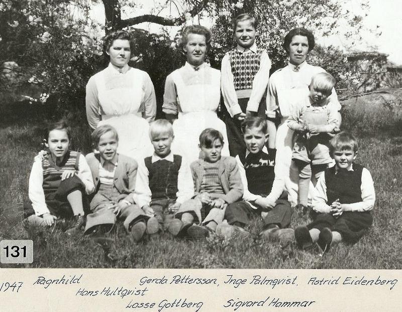 Gruppfoto 1947.