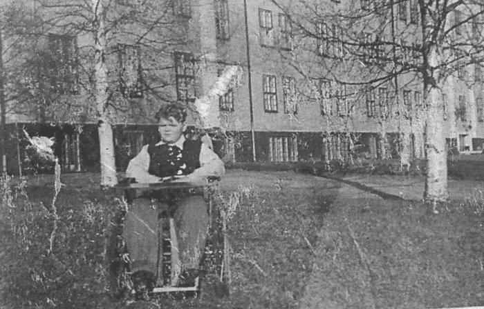 Elof Isaksson början av 1950-talet