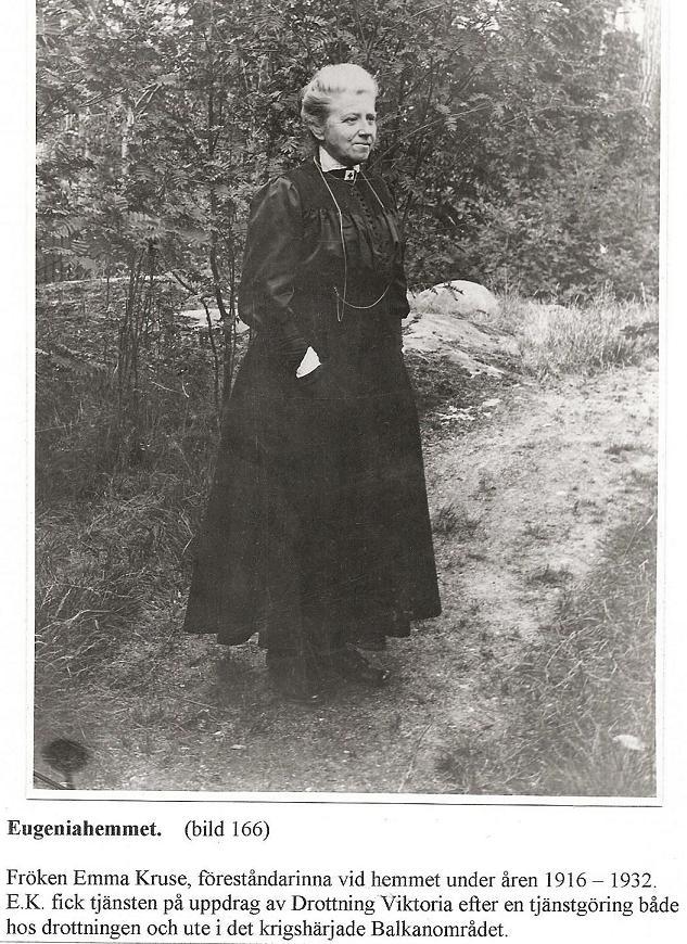 Emma Kruse förest. 1916-1932.
