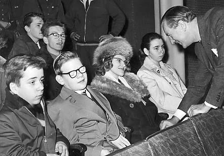 Frukostklubben 1961 med Sigge Fürst.