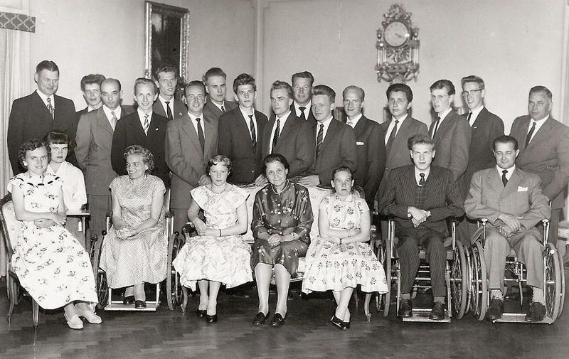Avslutning yrkesskolan 1957.