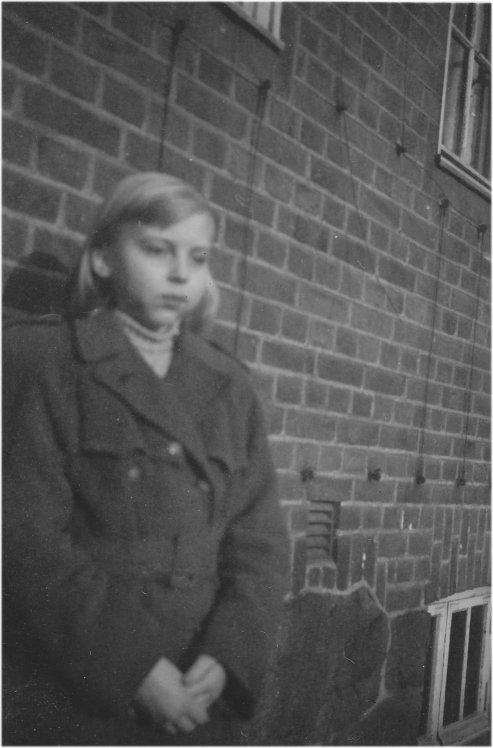 Gunnel Svensson omkring 1953