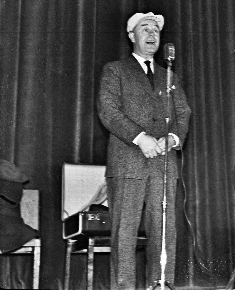 Gus Dahlström ca 1957-58.
