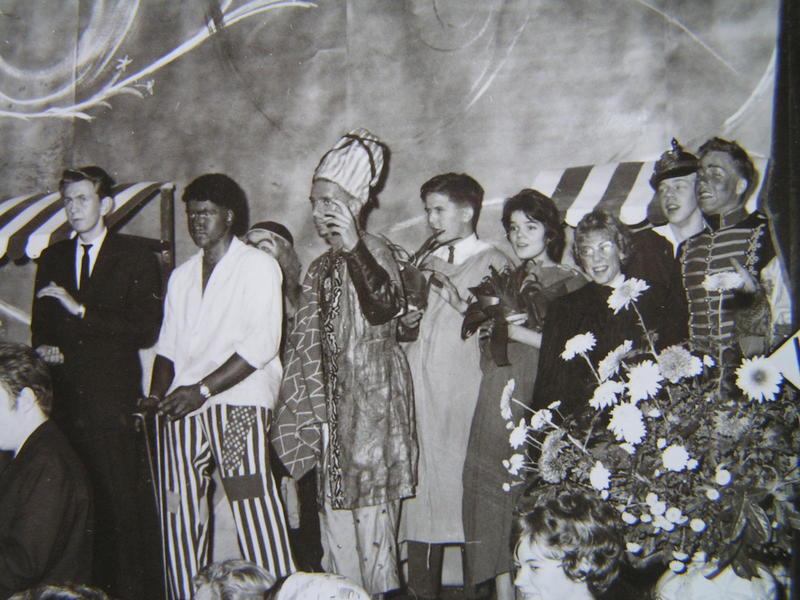 Medverkande på Höstfesten 1959.