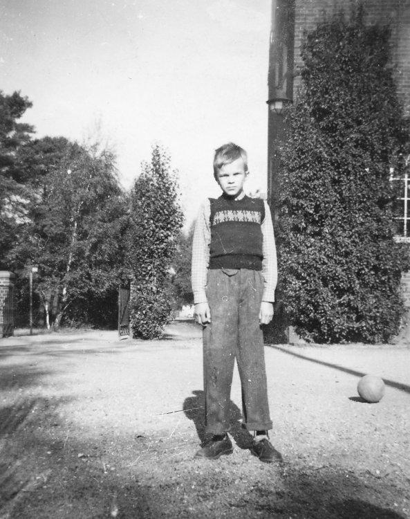 Inge Lekander 1950