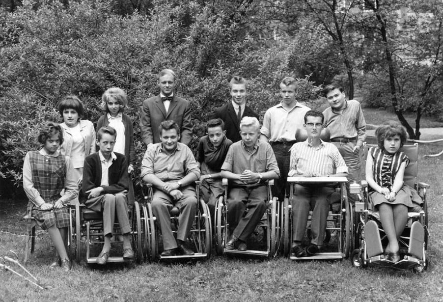 Klass 9 Enhetsskolan 1964.