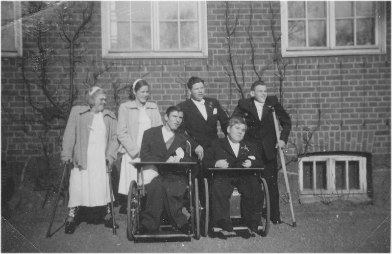 Konfirmander omkring 1952