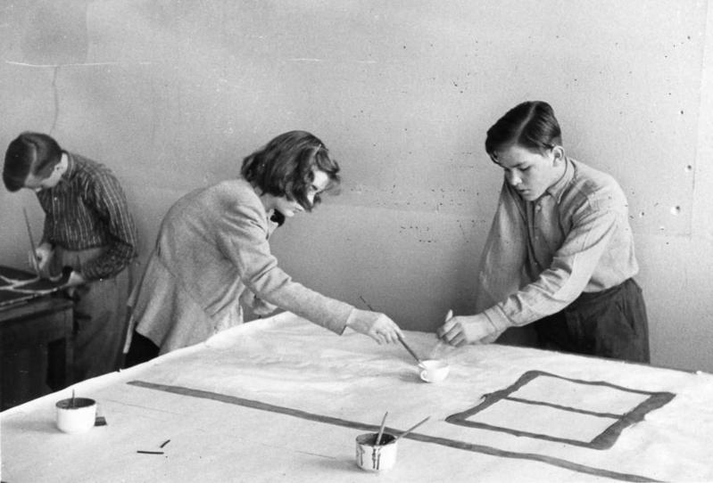 Kulisstillverkning 1951
