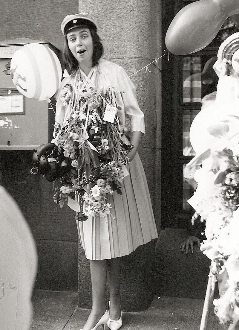Laila Olsson examen 1961.