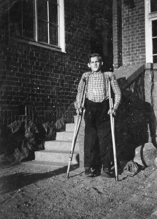 Lennart Larsson från Tådene 1953