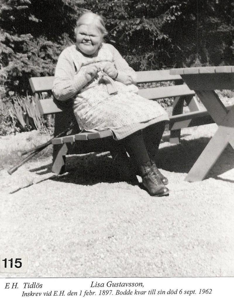 Lisa Gustavsson.