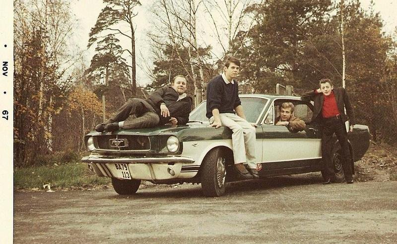 Utanför Tallbo nov. 1967.