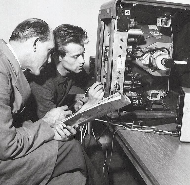 Yrkesskolan, Radio-TV.