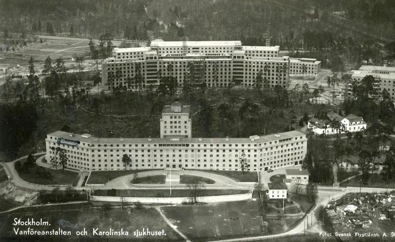 Vykort stämplat 1 april 1937.