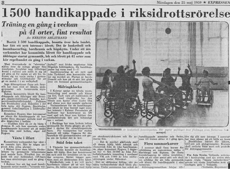 Artikel 25 maj 1959.