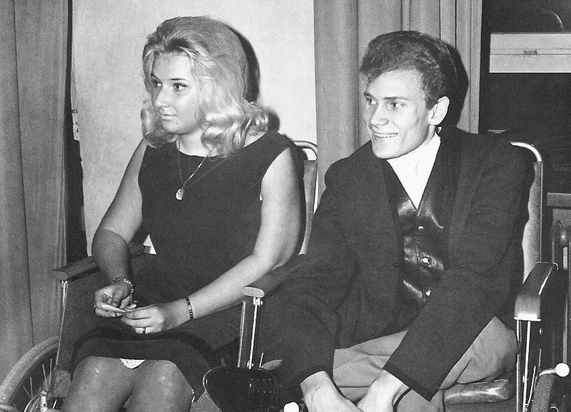 """Barbro Larsson och """"Pelle"""" Nilsson."""