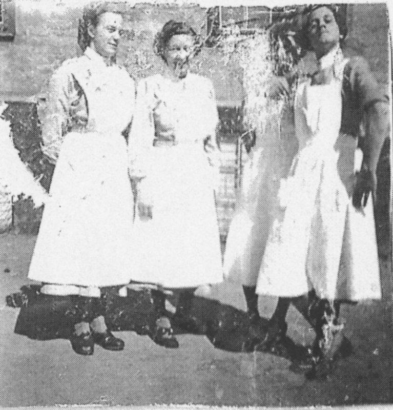 Personal på skolhemmet 1953