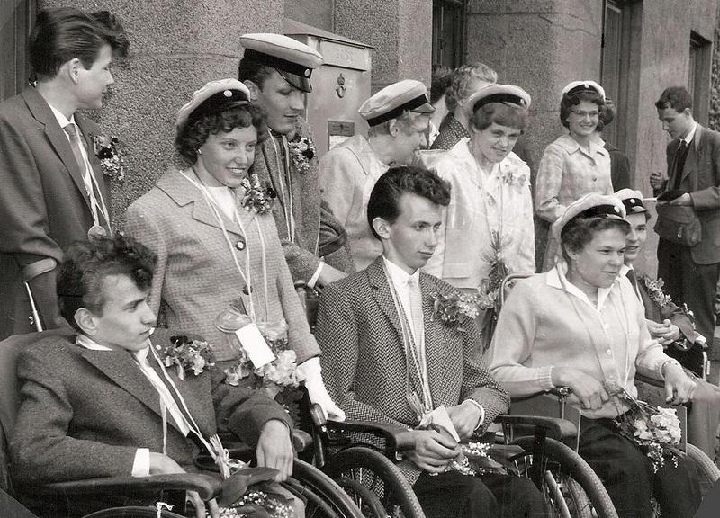 Realexamen 1958.