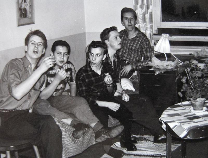 Rönnebogänget 1959.