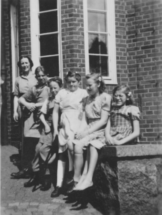 Sjätte klass år 1947
