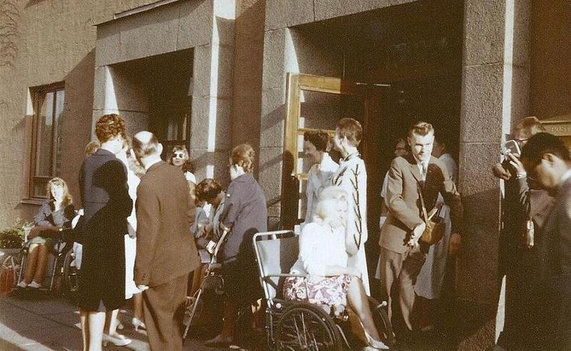 Skolresa till Italien 1963.