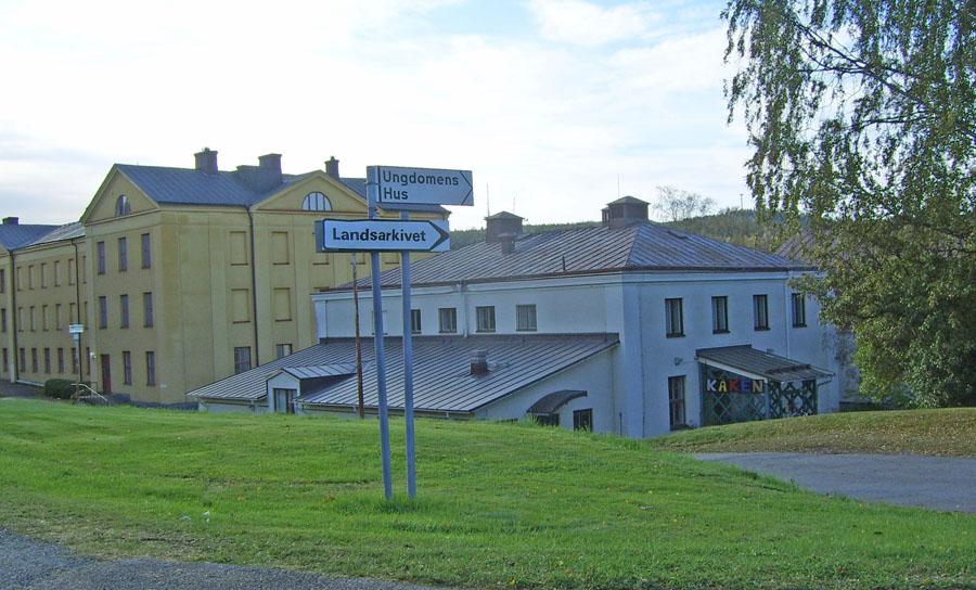 Landsarkivet och Ungdomens hus
