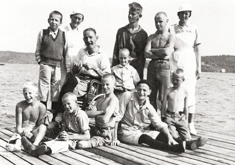Sommarkollo på Mölna 1934-1938.
