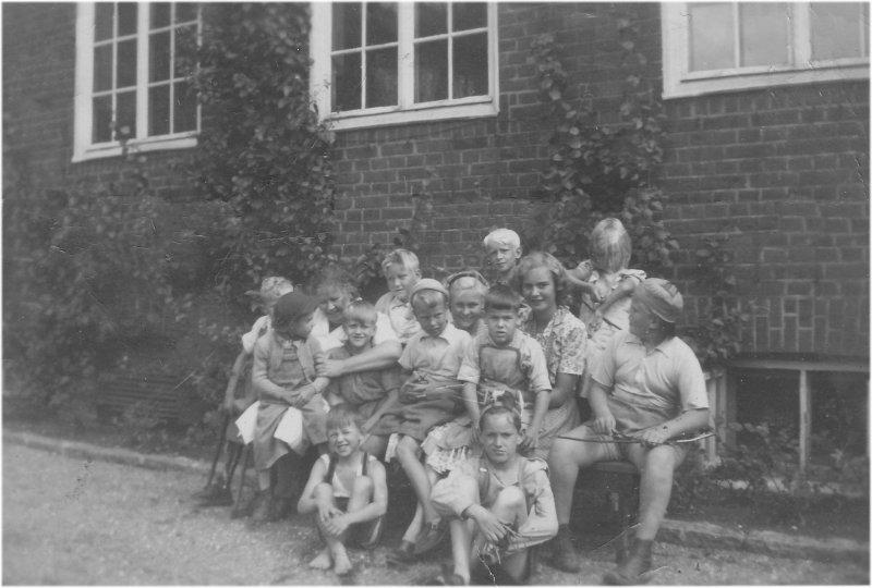 DHR hade sommarkollo på skolhemmet 1949 och 1950