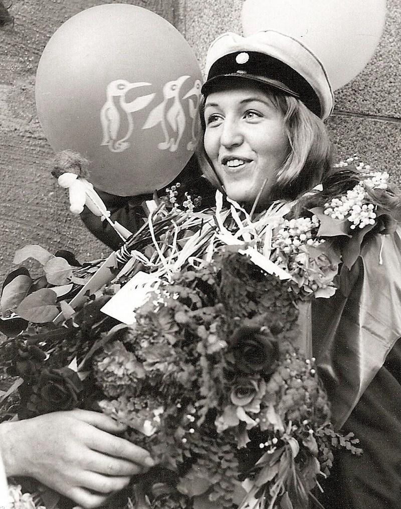 Sonja Nordberg examen 1961.