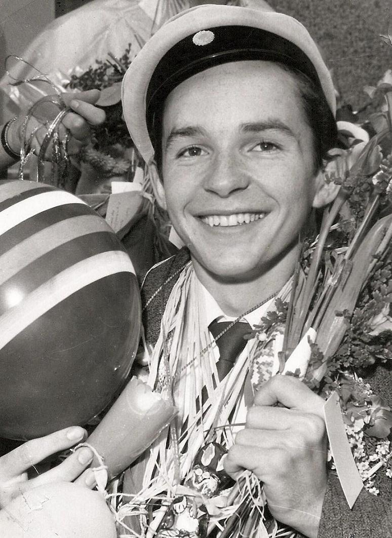Stig Allan Olsson examen 1958.