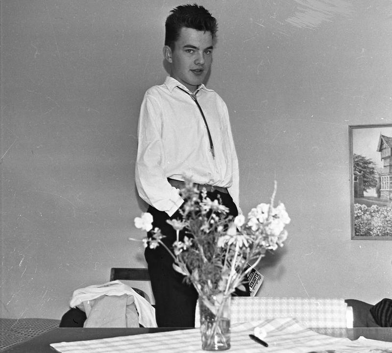 Stig Gunnarsson 1958.