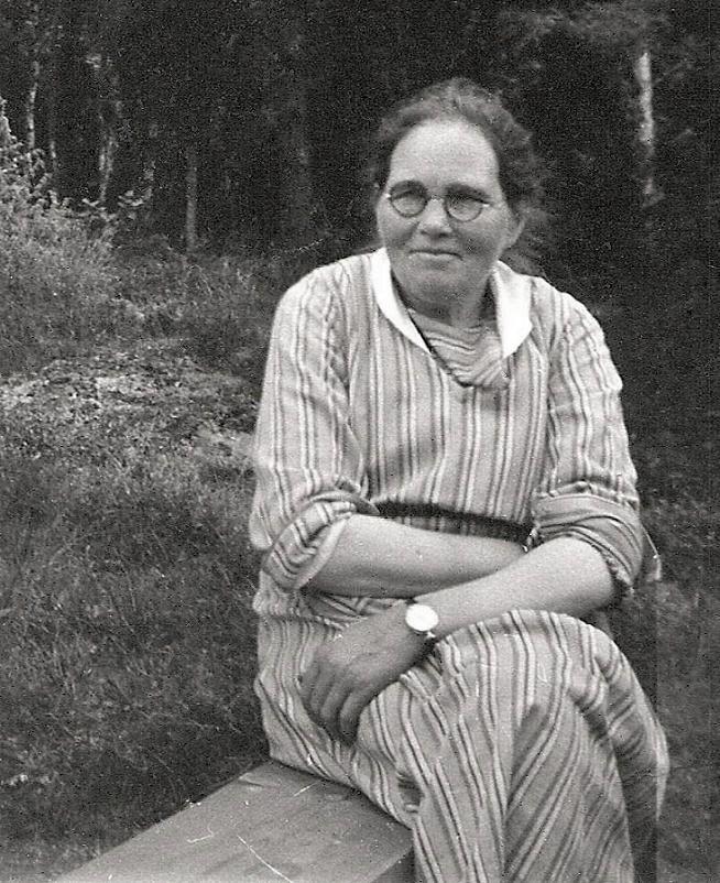 Syster Ulla på avd. 11.
