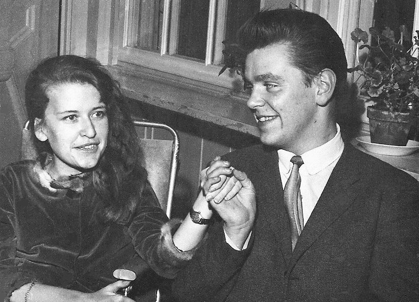 Ulla Ström och Walther Jansson.