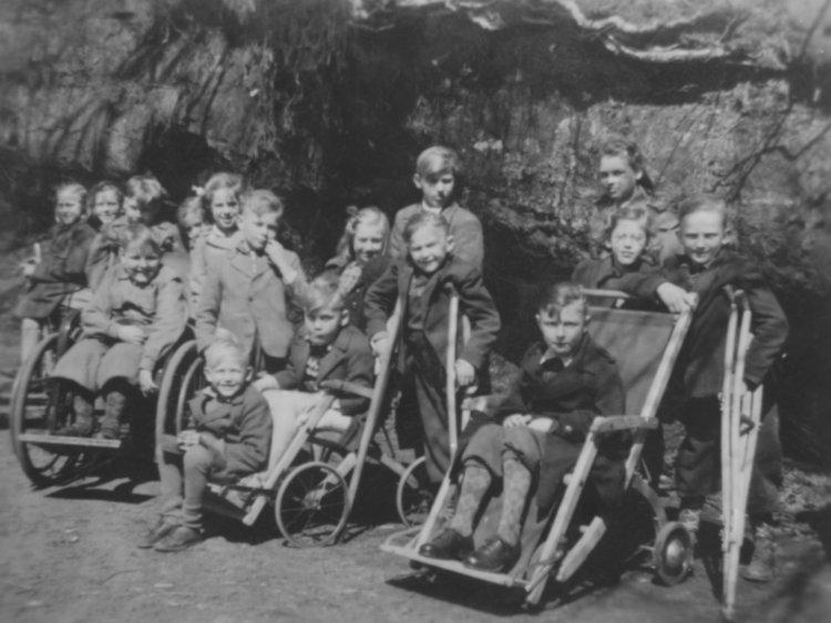 Utfärd till Ramlösa slutet av 1940-talet