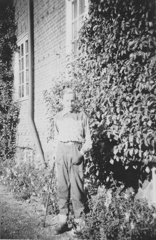 Villy Englund början av 1950-talet